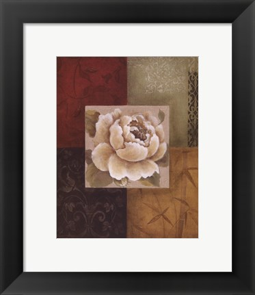 Framed Beautiful as Peonies I Print