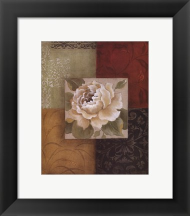 Framed Beautiful as Peonies II Print