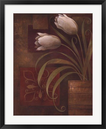 Framed Tulip Interlude II Print