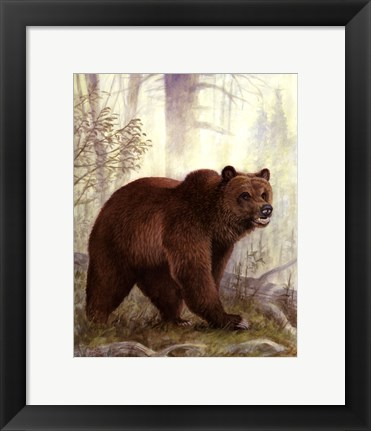 Framed Grizzly Mama Print