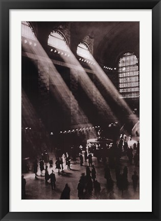 Framed Grand Central Station Print