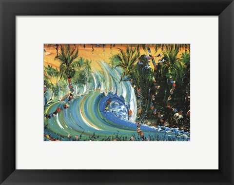 Framed Tropical Mix Print
