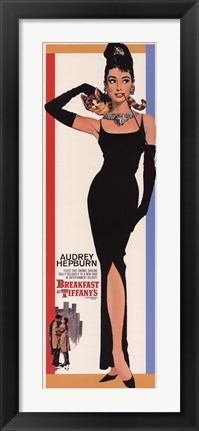 Framed Breakfast at Tiffany's - Audrey Hepburn Print