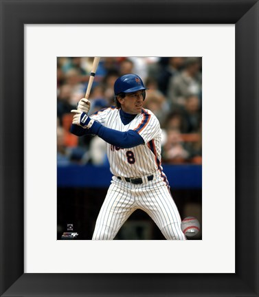 Framed Gary Carter Print