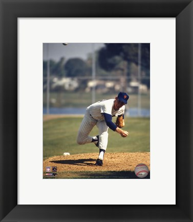 Framed Nolan Ryan Print