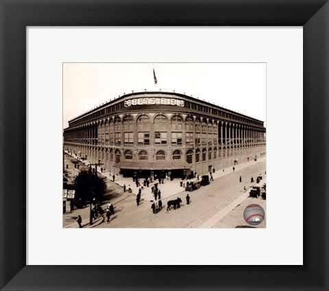 Framed Ebbets Field - Outside #1 Print