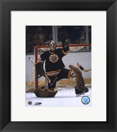 Framed Gerry Cheevers - Save Print