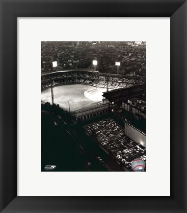 Framed Forbes Field - Night Shot Print