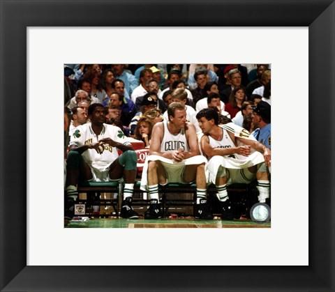 Framed R. Parish/L. Bird/K. McHale Print