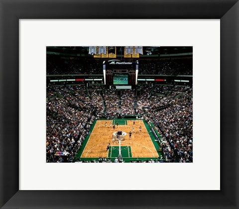 Framed Fleet Center (NBA) Print