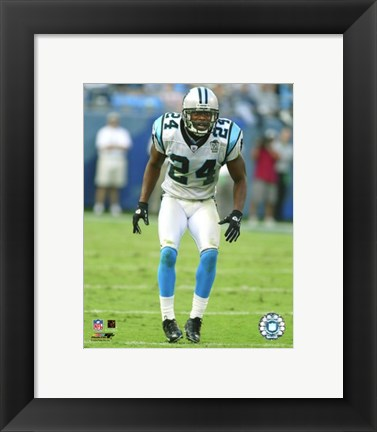 Framed Ricky Manning Jr. - '04  / '05 Action Print