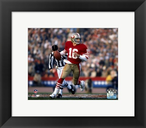 Framed Joe Montana - #20 Print