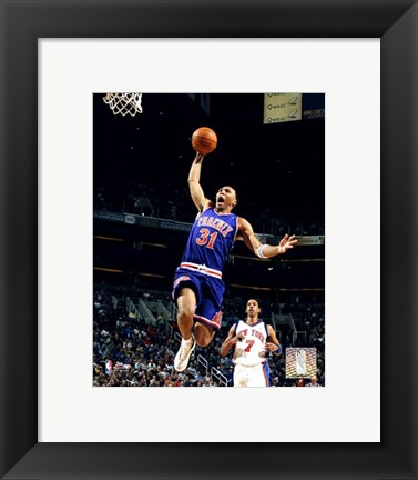 Framed Shawn Marion - '05 / '06 Action Print