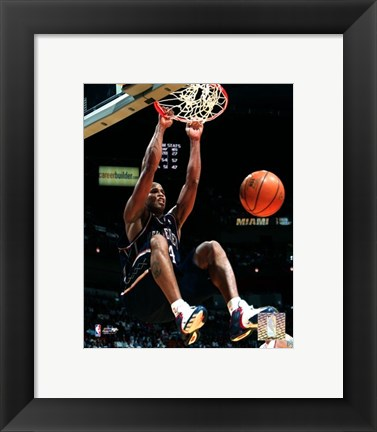 Framed Richard Jefferson - '05 / '06 Action Print