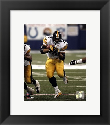 Framed Jerome Bettis - '05 / '06 Action Print