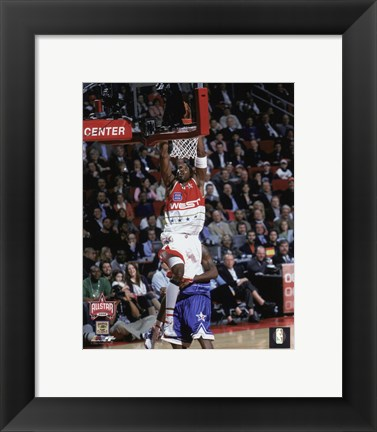 Framed Kobe Bryant - `06 ASG / Action Print