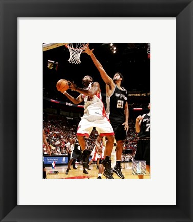 Framed Udonis Haslem - '05 / '06 Action Print