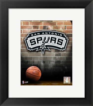 Framed Spurs - 2006 Logo Print