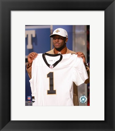 Framed Reggie Bush - 2006 NFL Draft Day Print