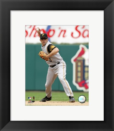 Framed Jack Wilson - 2006 Fielding Action Print