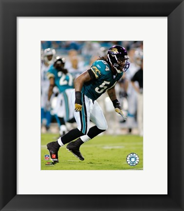 Framed Mike Peterson - '06 / '07 Action Print