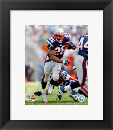 Framed Corey Dillon - '06 / '07 Action Print