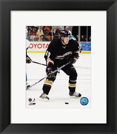 Framed Corey Perry - '06 / '07 Home Action Print