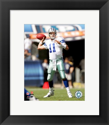 Framed Drew Bledsoe - '06 / '07 Action Print
