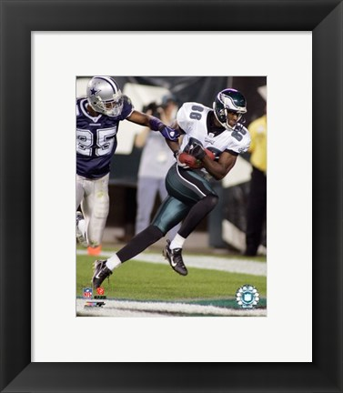 Framed Reggie Brown - '06 / '07 Action Print