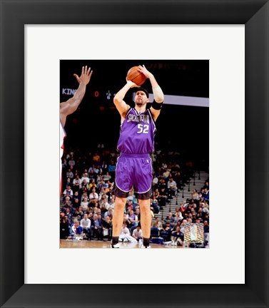 Framed Brad Miller - '06 / '07 Action Print