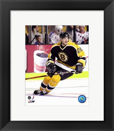 Framed Brad Boyes - '06 / '07 Home Action Print