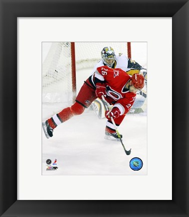 Framed Erik Cole - '06 / '07 Home Action Print