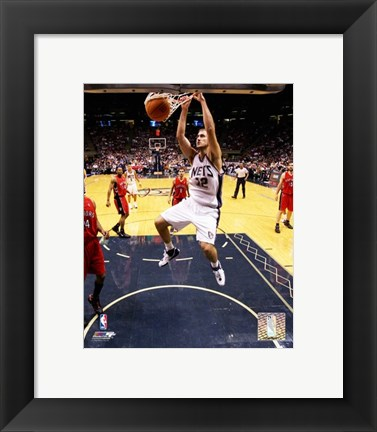Framed Nenad Krstic - '06 / '07 Action Print