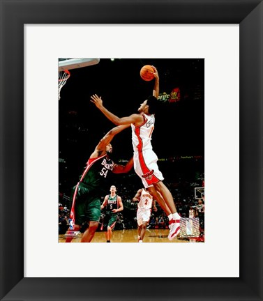 Framed Josh Childress - '06 / '07 Action Print