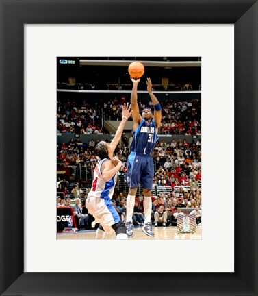 Framed Jason Terry - '06 / '07 Action Print
