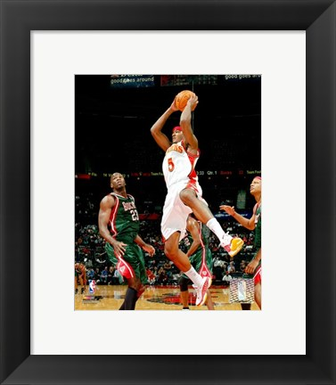 Framed Josh Smith - '06 / '07 Action Print