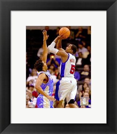 Framed Cuttino Mobley - '06 / '07 Action Print