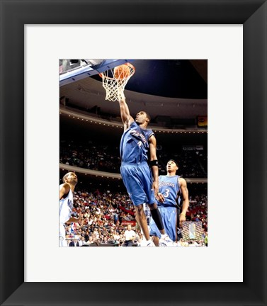 Framed Antawn Jamison - '06 / '07 Action Print