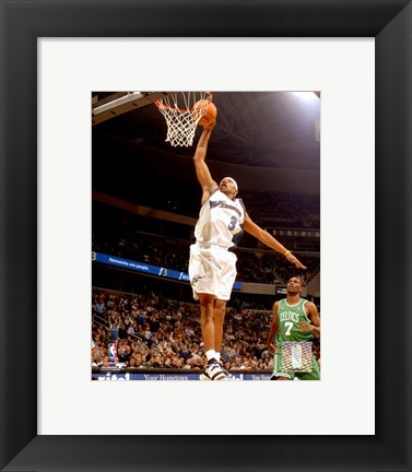 Framed Caron Butler - '06 / '07 Action Print