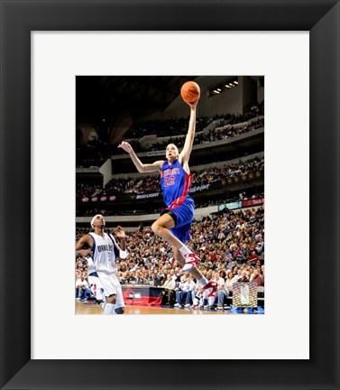 Framed Tayshaun Prince - '06 / '07 Action Print