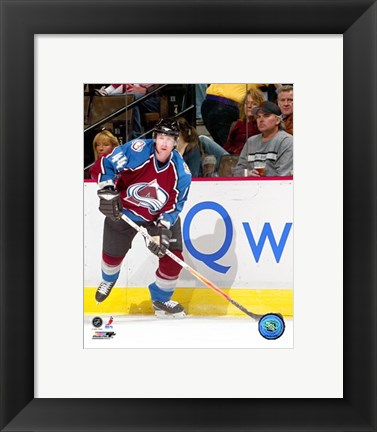Framed Jordan Leopold - '06 / '07 Home Action Print