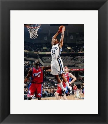 Framed Rudy Gay - '06 / '07 Action Print