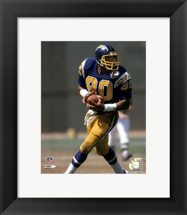 Framed Kellen Winslow - 1984 Action Print