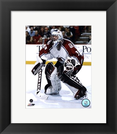 Framed Patrick Roy - 1998 Action Print