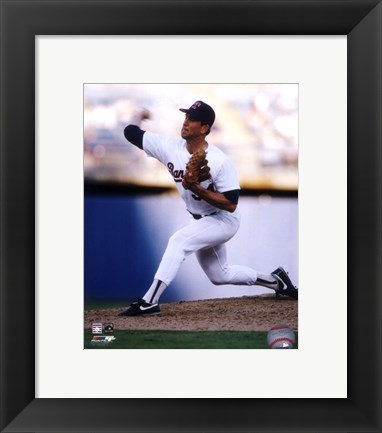 Framed Nolan Ryan - 1991 Action Print