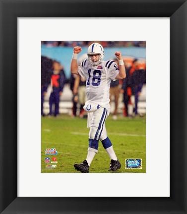 Peyton Manning Superbowl Xli 10 Poster By Unknown At