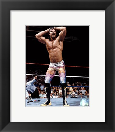 Framed Ravishing Rick Rude - #353 Print