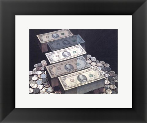 Framed Money Print