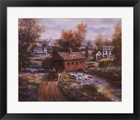 Framed Old Red Mill Print