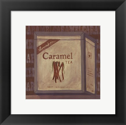 Framed Carmel Tea Print